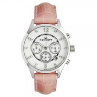 Buy Kennett Watches LWSAVWHSILPK Ladies Savro Silver & Pink Watch online