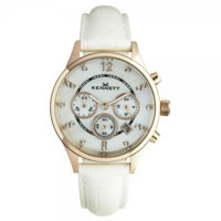 Buy Kennett Watches LWSAVWHGOLWH Ladies Savro Gold Tone & White Watch online