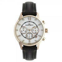 Buy Kennett Watches LWSAVWHGOLBR Ladies Savro Gold Tone & Black Watch online