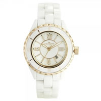 Buy Kennett Watches LWCERWHRG Ladies White & Rose gold Ceramic Watch online