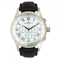 Buy Kennett Watches WSAVGOLWHBL Gents Savro Gold Tone & Black Watch online