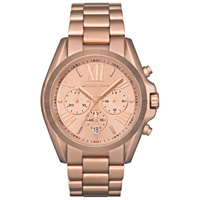 Buy Michael Kors Watches Unisex Chronograph Rose Gold Stainless steel Watch MK5503 online