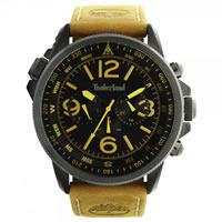 Buy Timberland Watches 13910JSBU-02 Campton Mens Tan Leather Watch online