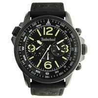 Buy Timberland Watches 13910JSB-02 Campton Mens Black Leather Watch online