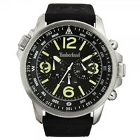 Buy Timberland Watches 13910JS-02 Campton Mens Black Leather Watch online