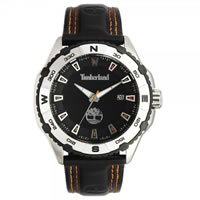 Buy Timberland Watches 13897JS-02 Shoreham Mens Black Leather Watch online