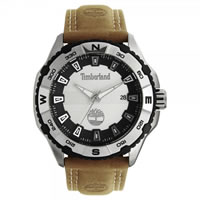 Buy Timberland Watches 13897JS-04 Shoreham Mens Brown Leather Watch online