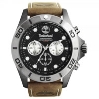Buy Timberland Watches 13909JSBU-02 Northfield Mens Brown Leather Chronograph Watch online