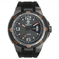 Buy Timberland Watches 13852JSU-61 Champlain Mens Black Silicone strap Watch online