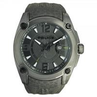 Buy Police Watches PL13891JSU-61 Adventure Mens Grey Leather Watch online