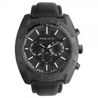 Buy Police Watches PL13938JSB-61 Police Mens Revolt IP Black Multifunctional Watch online