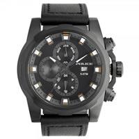 Buy Police Watches PL13928JSB-02 Police Mens Speedster IP Black Multifunctional Watch online