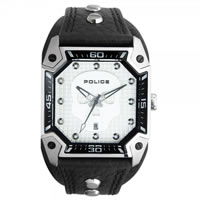 Buy Police Watches PL13888JS-04 Police Mens Silver Wildcard Watch online
