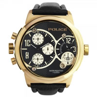 Buy Police Watches PL12739JISR-02 Viper-X Mens Rose Gold Multifunction Watch online