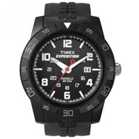 Buy Timex Watches Black Rubber Strap Gents Expedition Rugged Watch T49831SU online