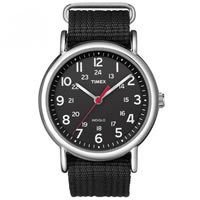 Buy Timex Watches Black Nylon Strap Unisex Classics Camper Watch T2N647 online