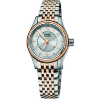 Buy Oris Ladies Automatic 2-Tone Steel Bracelet Watch 59476804361MB online