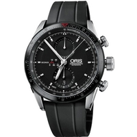 Buy Oris Artix GT Mens Leather Strap Watch 67476614434RS online