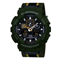 Buy Casio Gents G-Shock Mass Watch GA-100MC-3AER online
