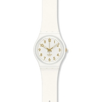 Buy Swatch Ladies White Bishop Watch GW164 online