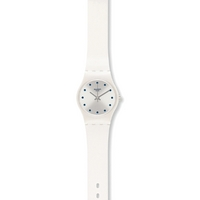 Buy Swatch Ladies Hora Blanca Watch LW143 online
