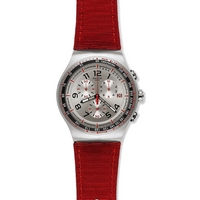 Buy Swatch Gents Red Snair Watch YOS448 online