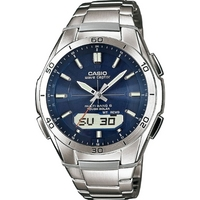 Buy Casio Gents Solar Powered Radio Controlled Bracelet Watch WVA-M640D-2AER online