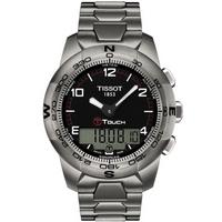 Buy Tissot Gents T-Touch Titanium Black Watch T047.420.44.057.00 online