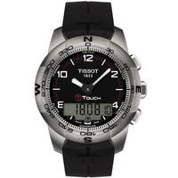 Buy Tissot Gents T-Touch Rubber Black Watch T047.420.47.057.00 online