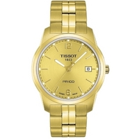 Buy Tissot Gents PR100 Gold Tone Watch T049.410.33.027.00 online