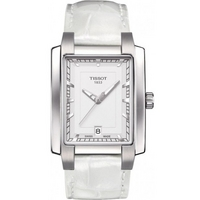 Buy Tissot Ladies T Trend White Leather Strap Watch T061.310.16.031.00 online