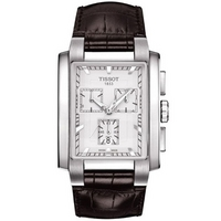 Buy Tissot Gents T Trend Chronograph Leather Strap Watch T061.717.16.031.00 online