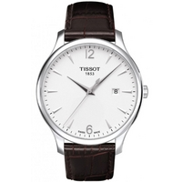 Buy Tissot Gents Traditional Silver Arabic Watch T063.610.16.037.00 online