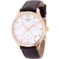 Buy Tissot Gents Traditional Rose Gold Tone Chronograph Watch T063.617.36.037.00 online