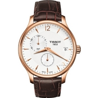 Buy Tissot Gents Traditional Rose Gold Tone Steel Watch T063.639.36.037.00 online