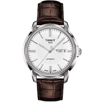 Buy Tissot T Classic Gents Brown Leather Watch T065.430.16.031.00 online