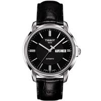 Buy Tissot T Classic Gents Black Leather Watch T065.430.16.051.00 online