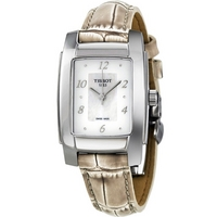 Buy Tissot Ladies T Trend Black Leather Strap Watch T073.310.16.116.01 online