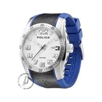 Buy Police Gents Rubber Strap Watch 12557JS-04B online