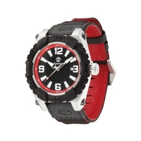 Buy Timberland Gents Hookset Black Material Strap Red Detail Watch 13321JSTB-02 online