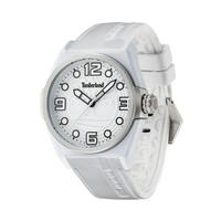 Buy Timberland Gents Radler White Rubber Strap Watch 13328JPWS-01 online
