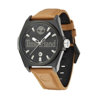 Buy Timberland Gents Back Bay Brown Leather Strap Watch 13329JSB-02 online