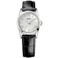 Buy Hugo Boss Ladies Black Leather Strap Watch 1502281 online