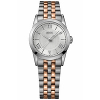 Buy Hugo Boss Ladies 2 Tone Steel Bracelet Watch 1502308 online