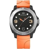 Buy Boss Orange Gents Rubber Strap Watch 1512665 online