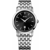 Buy Hugo Boss Gents Stainless Steel Bracelet Watch 1512720 online