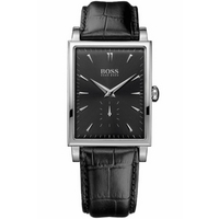 Buy Hugo Boss Gents Fashion Black Leather Strap Watch 1512784 online