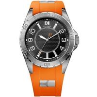 Buy Boss Orange Gents HO-2310 Orange Rubber Strap Watch 1512808 online