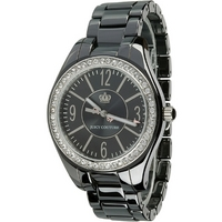 Buy Juicy Couture Ladies Black Fashion Watch 1900643 online