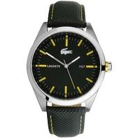 Buy Lacoste Gents Black Strap Watch 2010596 online
